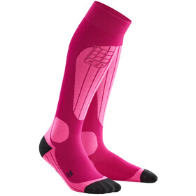 cep Ski Thermo Socks Women pink/flash pink